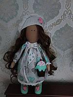 Кукла тильда  Девочка с пироженкой. 550 грн
