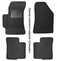 Коврики текстиль Toyota Corolla 2012- (Е-16) латекс черный, шеврон черный
