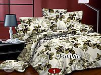 Двуспальный комплект постельного белья Сатин!