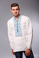 Мужская сорочка с вышивкой крестиком