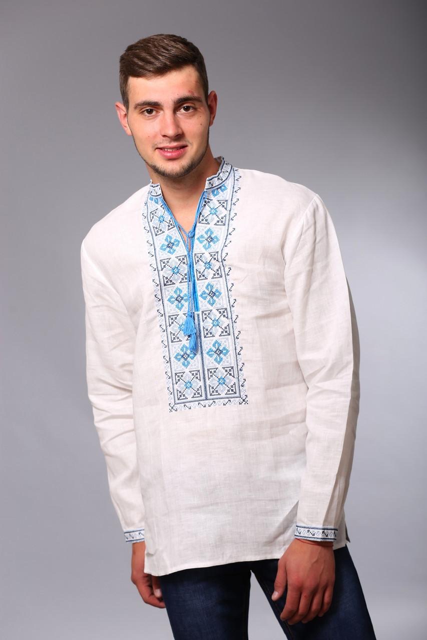 Мужская сорочка с вышивкой крестиком 15212ac518342