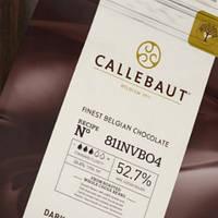Шоколад чорний №811(Select), 53% (Barry Callebaut), 500 гр., фото 1