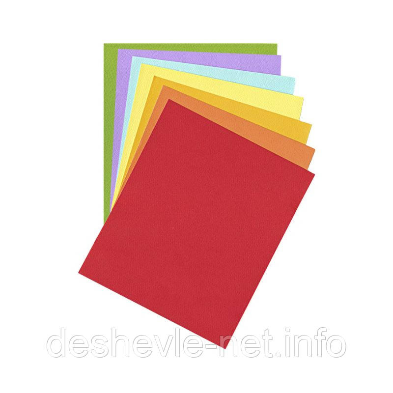 Бумага для пастели Tiziano B2 (50*70см), № 44 oro, 160г/м2, желтый, среднее зерно, Fabriano