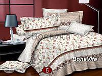 Двухспальный комплект постельного белья Сатин №5