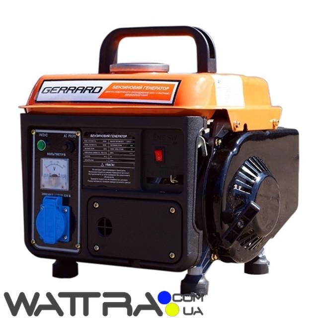 ⭐ Генератор бензиновый Gerrard GPG 950 (0.65квт) (1ф)