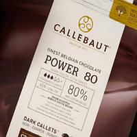 Шоколад горький №80-20-44(Power 80), 80% (Barry Callebaut), 100 гр.