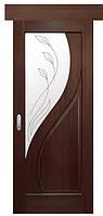 Раздвижная дверь  МАЭСТРА ПРИМА R2 ПВХ DeLuxe: grey, венге nev, золотая ольха, каштан, ясень