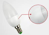 3W Е14 10LED Экономная светодиодная лампа - свеча, LED лампа КАЧЕСТВО!, Хит продаж