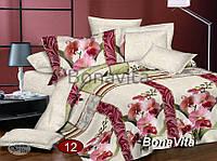 Еврокомплект постельного белья Прелесть из сатина