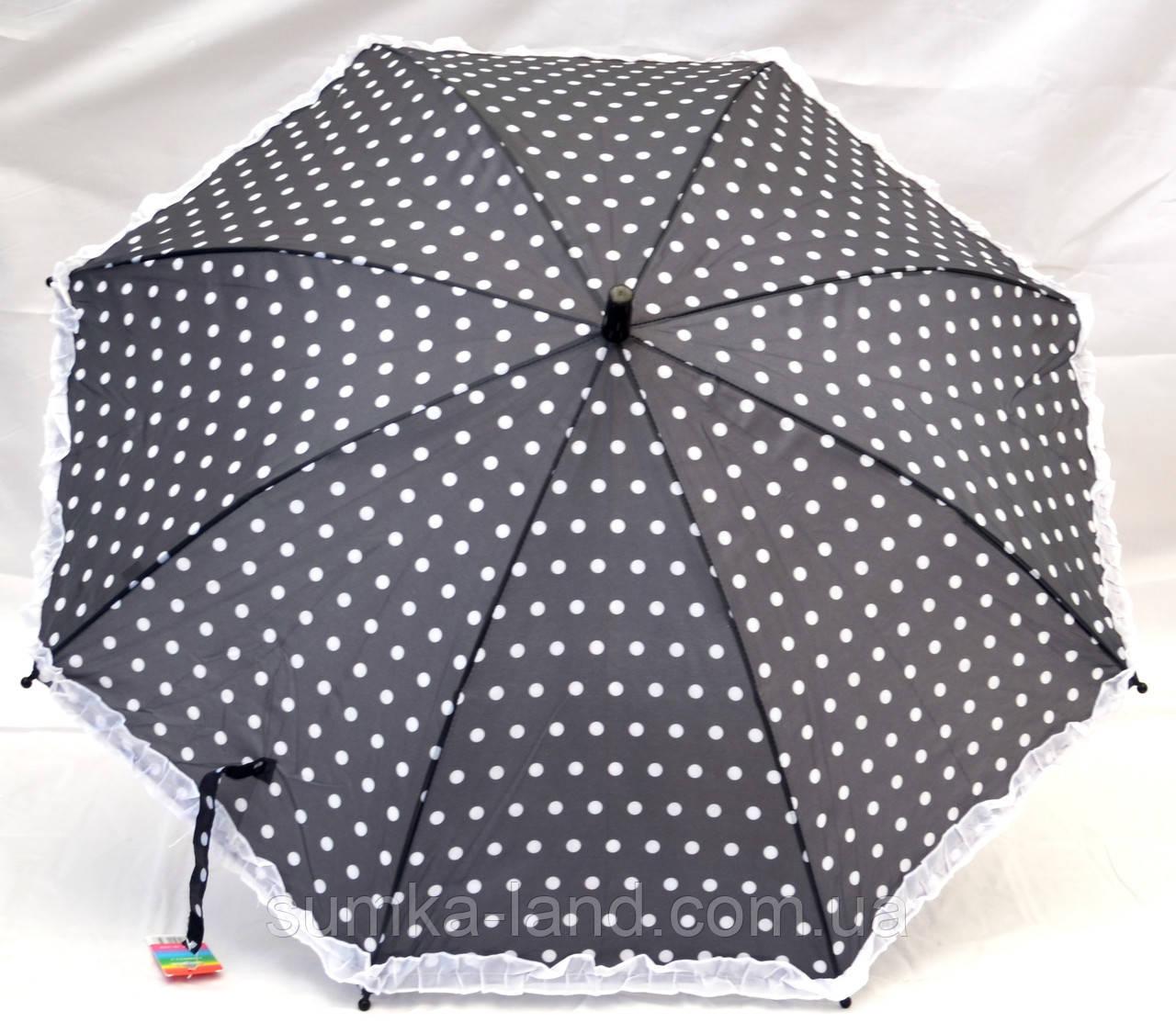 Зонты - трость детские + СВИСТОК (2 цвета)