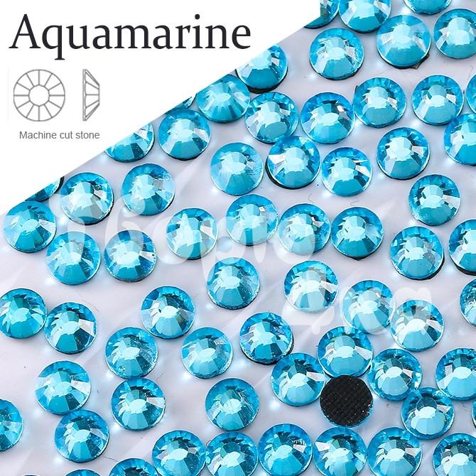 Стразы DMC - Aquamarine (Небесно голубые) ss16