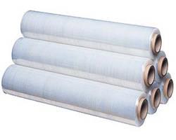 Стретч-пленка упаковочная прозрачная 17мкм./2,70 кг./ 0,500кг. втулка