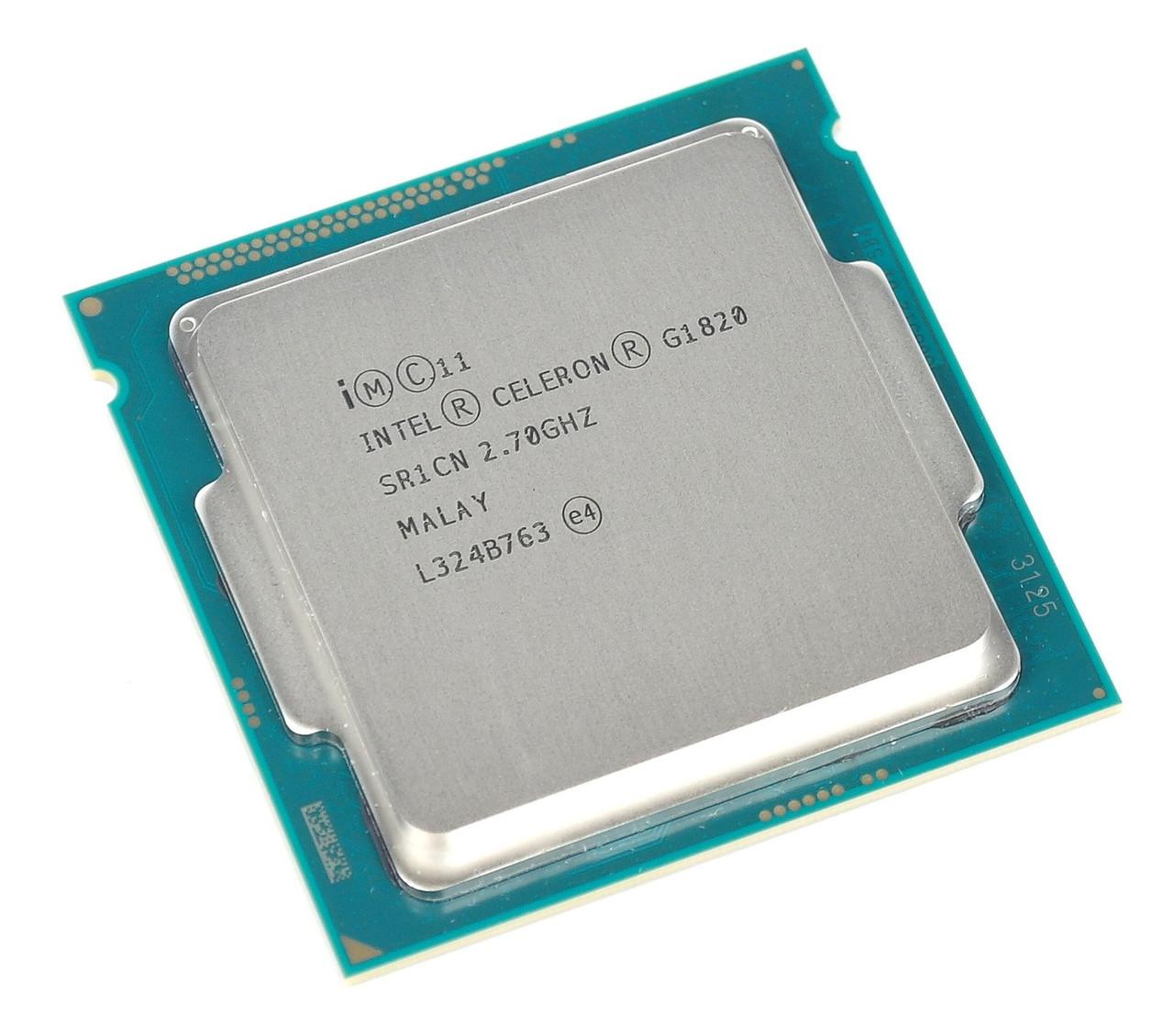 Процессор Intel Celeron G1820 BX80646G1820 2.7GHz Socket 1150 Tray Б/У