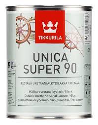 Лак Unica Super Tikkurila для дерева Уника Супер, 9л глянцевый