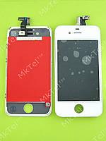 Дисплей iPhone 4S с сенсорным экраном, high version Копия А Белый