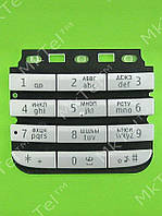 Клавиатура Nokia Asha 300 Оригинал (снято с произв.) Серебристый