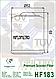 Масляный фильтр Hiflo HF183 для Adiva, Aprilia, Benelli, Derbi, Gilera, Italjet, Malaguti, Peugeot, Piaggio., фото 2