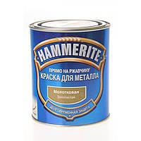 Краска Hammerite молотковая 0,7л золото