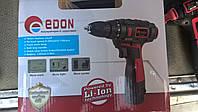 Аккумуляторный шуруповерт Edon CF1006S Li-ion, фото 1