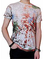 Мужская футболка №3447-1