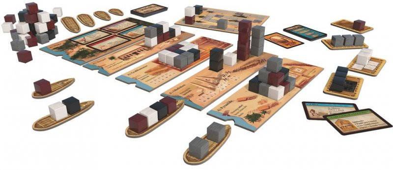 Настольная игра Imhotep (Имхотеп), фото 2