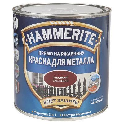 Краска Hammerite гладкая 2,5л