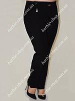Стильные женские брюки черного цвета 8032
