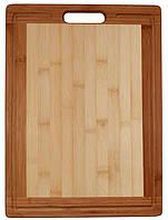 Разделочная доска деревянная 34х24см