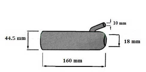 Нержавеющий цельнометаллический стакан для доильного аппарата
