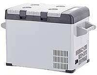 Фреоновый автохолодильник BD 42: диапазон +5 +40 °C, 17,7 кг, питание 12/24В, 65,5х46х35,5 см