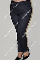 Модные женские брюки из трикотажа 0315