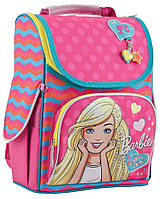 Рюкзак + пенал в подарок_ каркасний H-11 Barbie rose, 34*26*14код товара 553275