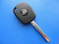 Ford - заготовка ключа под 4D эмулятор, HU101