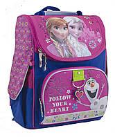 Рюкзак + пенал в подарок_ каркасний H-11 Frozen rose, 34*26*14код товара 553263