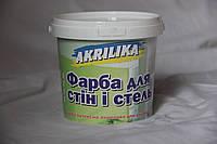 Водоэмульсионная краска Akrilika для внутренних работ (1,4 кг)