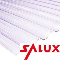 Прозорий шифер Салюкс Salux ХВИЛЯ 1.8*0.9 (прозорий лист)
