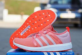 Кроссовки женские Adidas Bounce,беговые,коралловые, фото 2