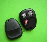 GMC - корпус пульта 2+1 кнопки