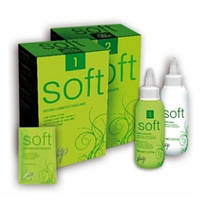 Vitality's Мягкая хим.завивка Soft N.2 для окрашенных волос, 2х100мл.