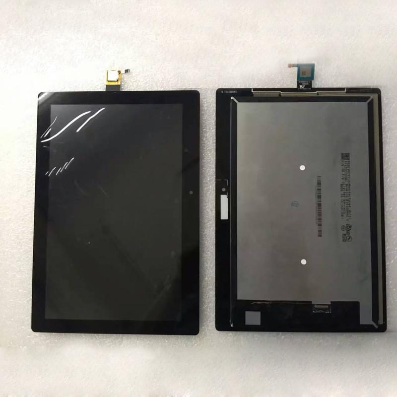 Дисплейный модуль для для планшета Lenovo Tab 2 10-30L черный с рамкой