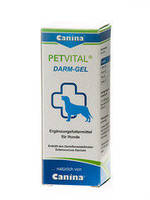 Canina PETVITAL Darm-Gel  пробиотик от проблем с пищеварением, 30 мл