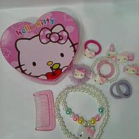 "Набор детской бижутерии""Hello Kitty"""