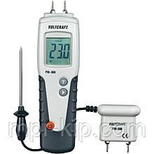 Вологомір деревини Voltcraft FM-300 (6-99%; -35...+80°C) з виносним датчиком температури і вологості. Німеччина