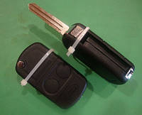 Land Rover - корпус выкидного ключа 2 кнопки