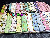 Комплект нежные байковые пеленки (5 шт), фото 1