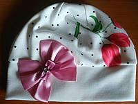 Детская шапка для теплой осени