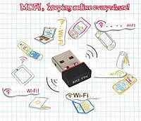 Мини USB WiFi Сетевой АДАПТЕР 150Mbit ! КАЧЕСТВО !, Хит продаж