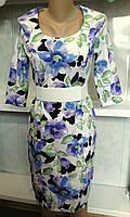 Платье женское с цветочным рисунком