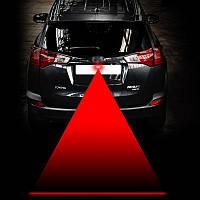 Лазерный стоп сигнал, противотуманная фара красная линия