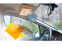 Оригинал! Солнцезащитный антибликовый козырек Vision Visor HD для автомобиля! Антифары, Хит продаж